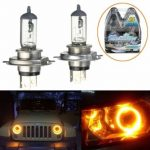 H4 12V 60/55W Yellow Halogen Headlight Replacement Bulb Lamp For Auto Car Truck