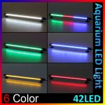42 LED 38cm Aquarium Bar Waterproof Submersible Stick Strip Light Lamp