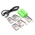 5PCS Eachine H8 Mini H8 3D Battery 3.7V 260mAh RC Quadcopter Spare Parts