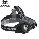 XANES K53A 600 Lumens Bicycle Led T6 Headlight Outdoor Sports HeadLamp 4 Modes Adjustable Head Light