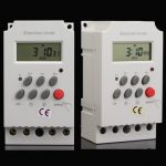 Digital Electronic Timer Switch AC 220V 25A Din Rail Programmable