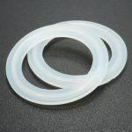 2Pcs Sanitary Clamp Silicone Beer Keg Gasket For Column Adapter Still
