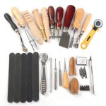 20pcs Leather Carft DIY Tool Hand Stitching Cutter Handicraft Toolkit