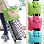 Women Travel Foldable Storage Bag Funcitonal Large Capacity Handbag Luggage Bag