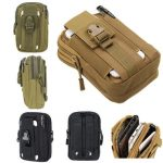 BAJ Outdoor Tactical Sport Multi-functional Waist Belt Pouch Wallet Storage Bag For Smartphone