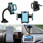 """Universal 360 Rotation Car Windshield Air Vent Holder Bracket Mount Stand For 4""""~7"""" iPhone Mobile Phone GPS"""