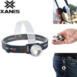 XANES XQ-111 300 Lumens 3W LED Red Light LED Bicycle Headlight Outdoor Sports HeadLamp 4 Modes Adjustable Emergency Lamp