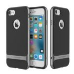 ROCK Slim Armor Hybrid PC TPU Shockproof Anti Fingerprints Back Cover Case For iPhone 6 6s 4.7 Inch