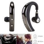 Business Noise Canceling Stereo Wireless Bluetooth Headphone Headset Handsfree with Mic for Phone