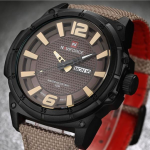 NAVIFORCE 9066 Fashion Quartz Men Watch Military Waterproof Sport Wrist Watch