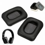 Replacement Black Earpad Ear Pads Cushion For Monster Inspiration PU Leather Headphone