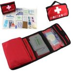 Outdoor Sport Emergency Survival First Aid Kit Bag Treatment Home Travel