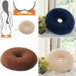 40cm Ring Donut Memory Foam Washable Cushion Piles Coccyx Pain Relief Pillow