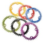 SNAIL 36T Circular Disc Chainring Bicycle Crankset 104MM Chainwheel Bike Single-tooth Positive and Negative Plate