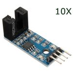 10Pcs LM393 Speed Sensor Detection Speed Module For Arduino
