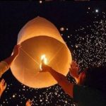 5X Love Heart KongMing Sky Lanterns Chinese Traditional Wishing Lamp Green Color