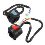1pair Universal 7/8inch Motorcycle Handlebar Horn Turn Signal Light Controller Switch