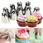 14 Pcs Different Style Sphere Ball Flower Cake Decor Icing Piping Nozzles Pastry Tips Tool