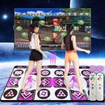 KangLi TV/PC Wireless Double Dance Pad English Menu Sensing Dancing Mat
