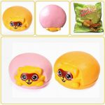LeiLei Squishy Jumbo Raccoon Slow Rising Original Packaing Animal Collection Gift Decor Toy