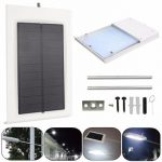 Solar Powered 15LED Outdoor Waterproof Light-controlled Security Wall Light
