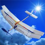 3PCS/Set Glider Rubber Band Elastic Powered Flying Plane Airplane Fun Model Kids Toy
