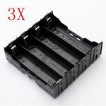 3Pcs E1A1 ABS Battery Box Holder For 4 x 18650
