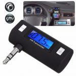 3.5mm Wireless Handsfree Car FM Transmitter Radio MP3 Player for iPhone iPod