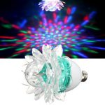 E27 Rotating Club Party Bar KTV Crystal RGB Stage Light Disco DJ LED Laser Lamp