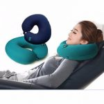 Honana WX-482 USB Battery-powered Multi-function Electric Massage U-pillow Cervical Massage Pillow