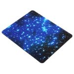 22x18cm Blue Starry Sky Mousepad Anti-Slip Gaming Mat Mouse For Computer Laptop