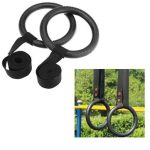 Shoulder Strenght Training Rings GYM Gymnastic Olympic Protable Rings