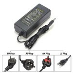 UK/EU/US/AU AC 100-240V To DC 12V 10A Power Supply Charger Adapter For LED Strip