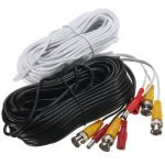 20M Video BNC DC Extension Lead Power Cable for CCTV Camera DVR System