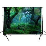 5x3FT Nature Jungle Forest Tree Photography Background Backdrop Studio Props