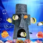 Aquarium Landscaping Decoration Aquatic Animals House Home Fish Tank Ornament