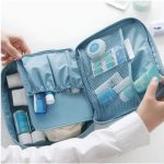 Honana HN-TB16 Travel Organizer Portable Storage Bag Cosmetic Toiletry Wash Bag Case Hanging Pouch