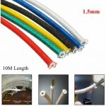 10M High Temperature Heat Resistant Cable Wire 1.5mm Fiber 16AMP Appliance