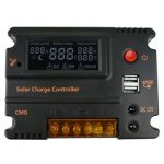 10A 12V 24V LCD Automatic USB Controller Battery Charge Solar Panel Auto Switch