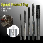 M3/M4/M5/M6/M8 HSS Nitride Coated Screw Tap Metric Spiral Hand Thread Screw Tap