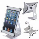 360 Degree Rotatable Aluminium Alloy Desktop Tablet Holder For iPad Mini 1 2 3