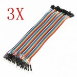 120Pcs 20cm Male To Female Jump Cable For Arduino