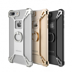 NILLKIN Barde Metal Ring Bracket Holder Case Fall-Resistant Back Cover Bumper for iPhone 7 Plus