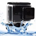 Waterproof Touch Screen Protective Housing Case Cover For Xiaomi Yi 2 4K Camera