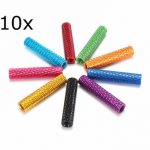 10Pcs M3 28mm Knurled Standoff Aluminum Alloy Anodized Spacer