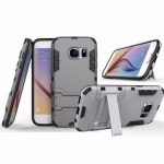 2 in 1 Armor Shockproof Back Case Phone Holder Protective Shell Stand Mount for Samsung Galaxy S7