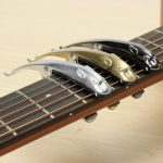 2 In 1 Zinc Alloy Guitar Capo Pin Puller with Cheetah Shape Design