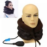 Air Cervical Neck Traction Soft Brace for Headache Head Back Shoulder Neck Pain