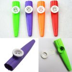 Colorful Plastic Kazoo Musical Instrument