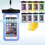 Cellphone Waterproof Cover Universal Underwater Bag Transparent Touchscreen Mobile Phone Pouch